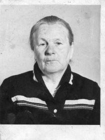 Жена Федорова Лидия Александровна