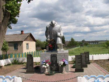 Братская могила д Шиичи республика Беларусь Полесская область Калинковичский район
