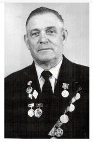 Ветеран ВОВ Терентьев Александр Николаевич