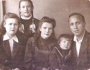 Первая семья моего деда (до войны)