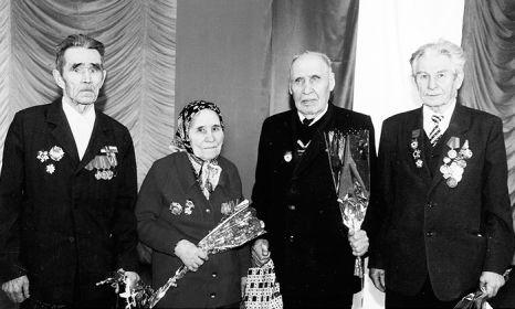 Чагодощенцы-участники Сталинградской битвы