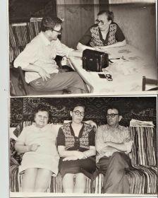 встреча с племянницей апрель 1983г