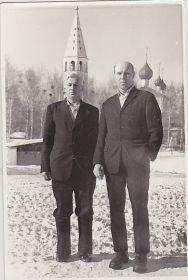 Борис(слева) с Виноградовым Василием.