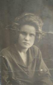 Жена Ускова Мария Алексеевна