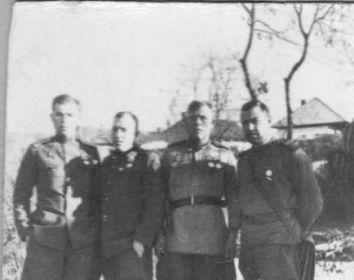 Единственные имеющиеся фотографии от мая - июня 1945 г. в районе Вены