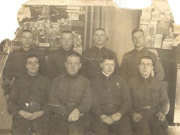 Яриков Ф.К. с сослуживцами. Служба в РККА (1937-1939 гг.)