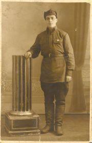 Яриков Ф.К. Служба РККА (18.11.1937 г.)