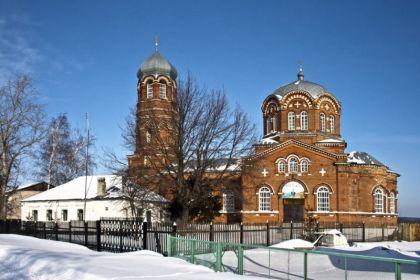 Иоанно-Предтеченская церковь с.Махоново (Добровский р-он Липецкой обл.)