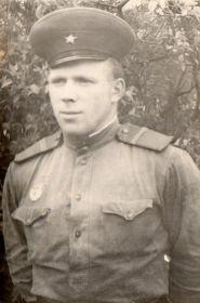Сын Александра Ивановича - Владимир Мокин (1941г.р.) на службе в рядах СА в Германии, город Вердер, 08.05.1963г.