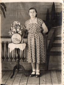 Дочь Александра Ивановича - Екатерина Дроздова (Мокина), 1937г.р. Город Медногорск, 25.08.1957г.