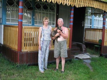 Брат Валерий с дочерью Ларисой .
