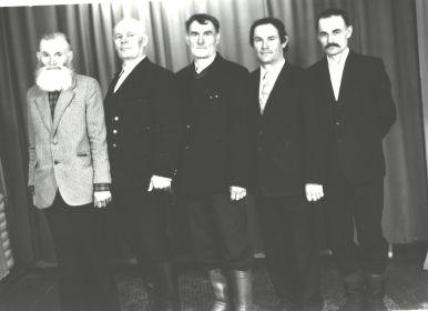 Братья Щеголевы,в семье было 11 братьев и сестер.