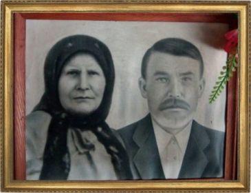 Родители Даниил Никифорович и Надежда...