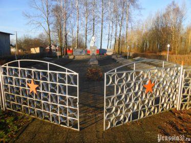 Мемориальный комплекс на братской могиле п. Бабушкино Калининградской области, Нестеровского района