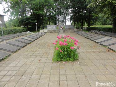 Мемориальной комплекс на братской могиле п. Бабушкино