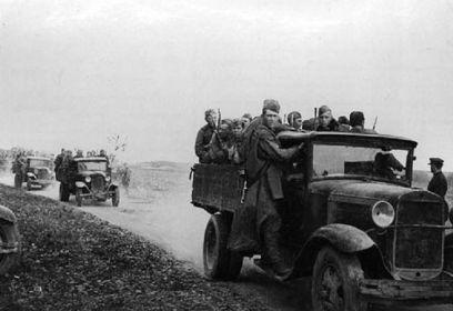 Бойцы 339 сд у станицы Красюковской