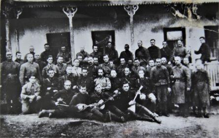 Командиры 1133 Таганрогского стрелкового полка