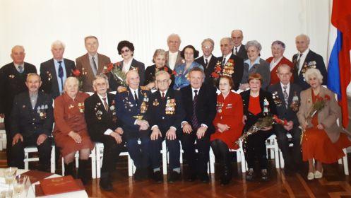 Совет ветеранов с Губернатором волгоградской области