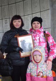 9 мая с портретом Семёна Александровича на Бессмертном полке