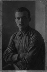 Малыгин В.А. 1924-25 г. Кронштадт