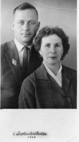 Владимир Дмитриевич и супруга Елена Петровна, в девичьи Липина