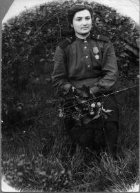 Ефрейтор Павленко Тамара Ивановна.
