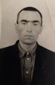 Фотография отца Чочаева М.Х. , 1957 год