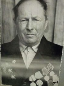 Ломтев Михаил Степанович в день победы