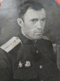 После ранения. Ленинградский фронт. 1943г.
