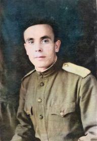 Красноармеец Борщев Николай Акимович, 1942 г. Прием в члены ВКП (б). Сталинградская операция