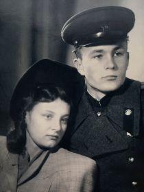 Пятибратов А. П. с супругой Пятибратовой Л. И.