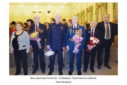 Немиров А.А. на Дне Защитника Отечества.