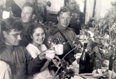 День Победы. Косова гора (под Прагой), 1945 год