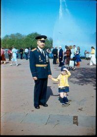 С внуком в ЦПКиО 9 мая 1984 г.