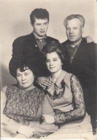 Семья  Хвостова Алекся Степановича