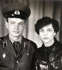 Дедушкин сын (мой папа Александр с моей мамой Надеждой )