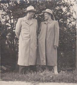 Совместное фото с женой - Марией Ивановной Ужик