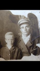 Иван Петрович с сыном Василием