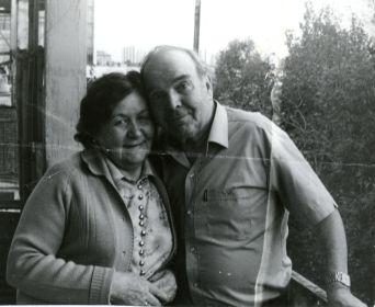 Коноваловы Петр Сергеевич и Евдокия Николаевна 80-е годы