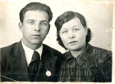 Коновалов Петр и Евдокия после войны