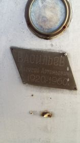 Памятник на кладбище (мыс Лихачева) п. Провидения Провиденского района Чукотского автономного округа