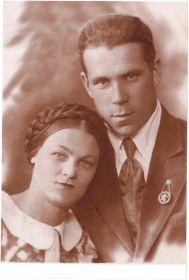 Архипов Алексей Кондратьевич и жена Ульянова Степанида Степановна
