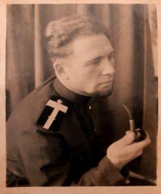 Анатолий Махов - товарищ по службе. 03.07.1952 г. Выборг.