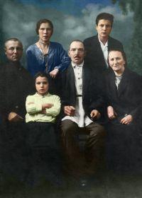 Полковниковы (Ширяевы), 1934 год, Ленинград