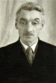 брат Михаил Григорьевич Абакумов, участник войны, сержант
