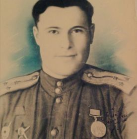Киев, март 1944 г ,ст. лейтенант Исраилов Г. И.