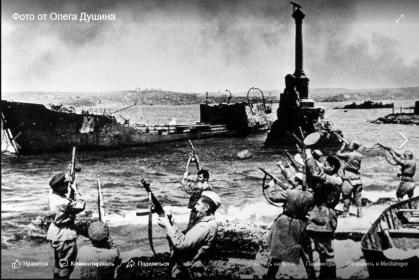 Олег Душин для Бессмертный полк ( из Фейсбука от 19 января 2020 г )