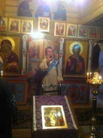 Перед уходом в жизнь вечную. На службе в храме иконы Казанской Божией Матери в поселке Мещерском