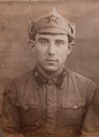 Начало службы в Красной Армии 1.11.1939 года