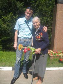 Я с  моей бабушкой.